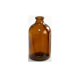 100mL Amber Serum Vials, 52x95mm, Ream of 48