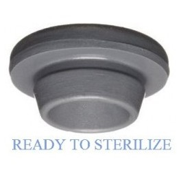 Ready to Sterilize Vial Stoppers, 20mm, Bag of 2500