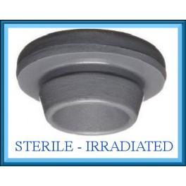 20mm Vial Stopper, Round Bottom, Irradiated, Bag of 1,000