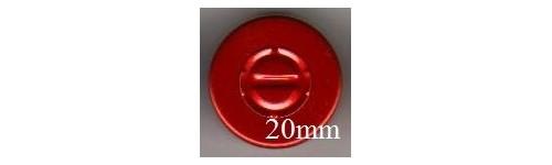 20mm Center Tear Vial Seals